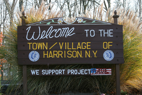 Welcome to the town / village of Harrison NY
