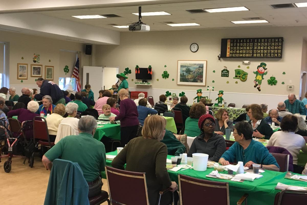 St Patrick's Day Luncheon  - West Harrison Senior Center