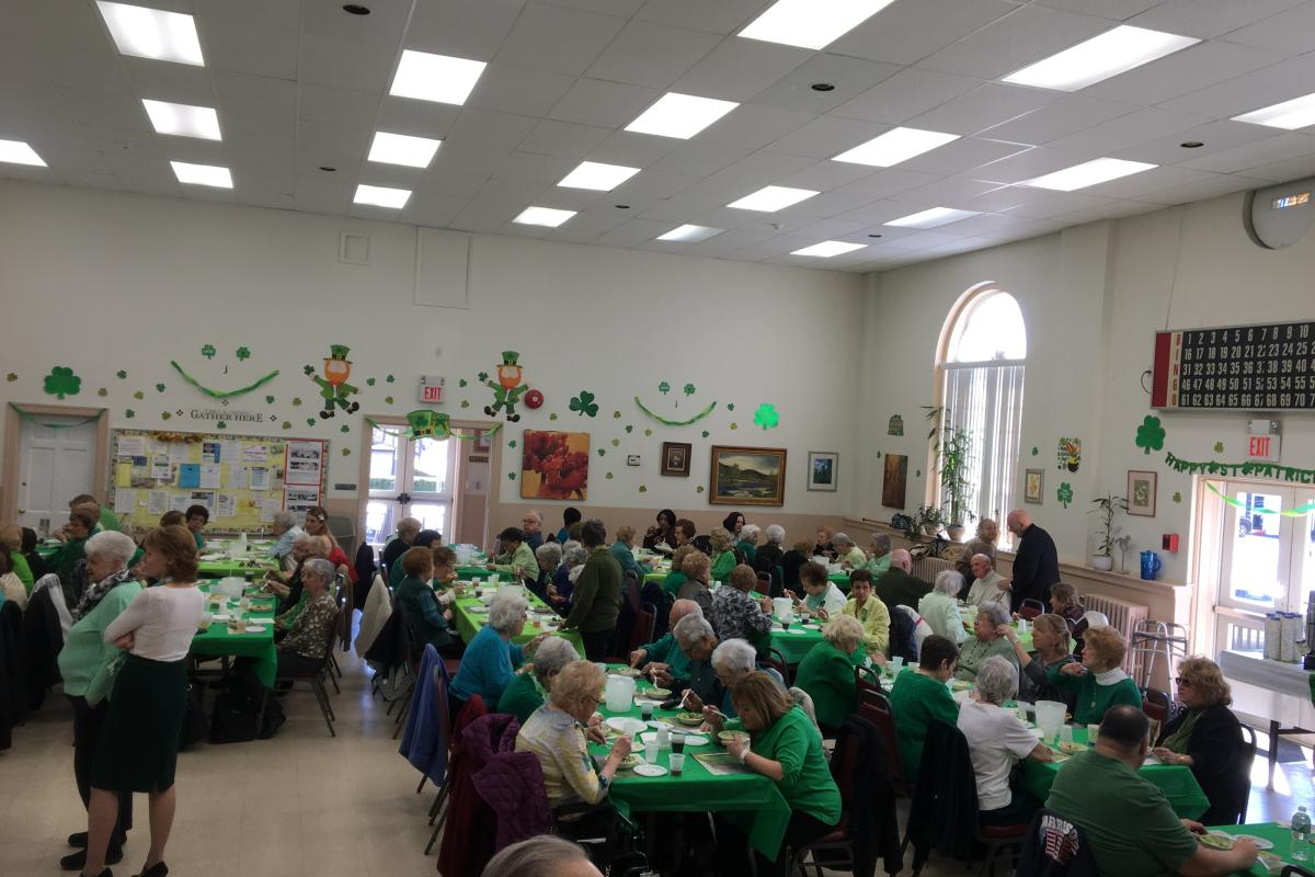 St Patrick's Day Luncheon - Downtown Senior Center