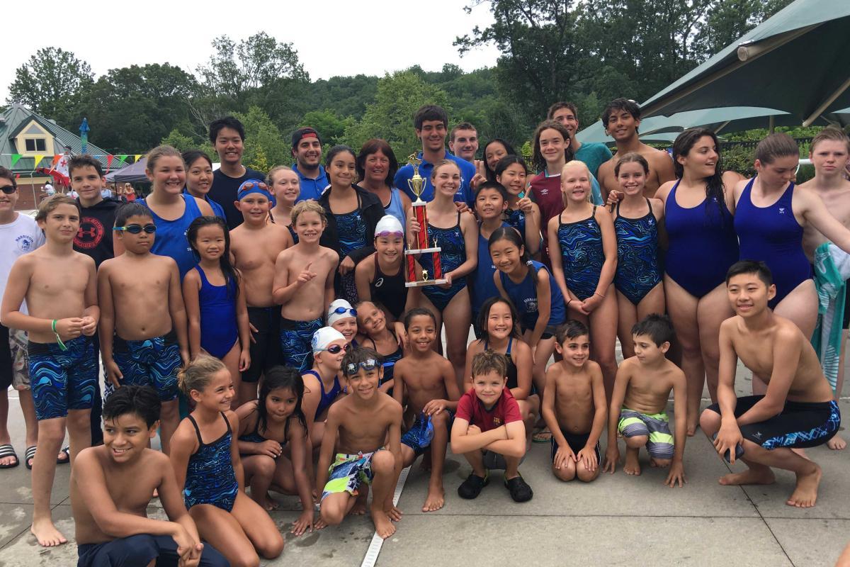 Summer Swim Team - 2017 Division Champions